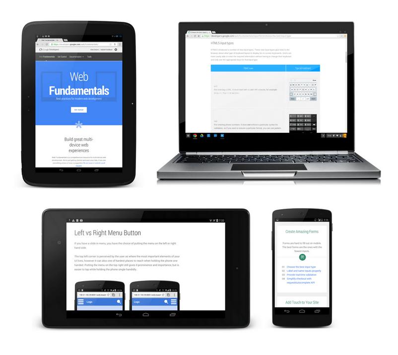 Web Fundamentals y Web Starter Kit: recursos para un desarrollo web moderno